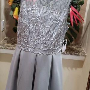 Beautiful grey any occasion dress new